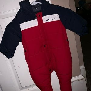 Baby boy Nautica colorblock snow suit